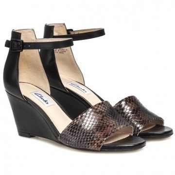 Sandalen CLARKS - Sass Babington 203577564 Black Combi Leather