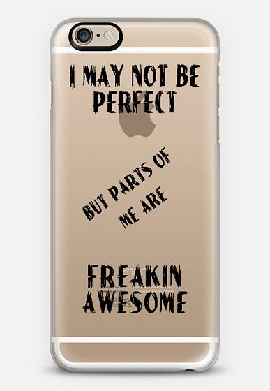 Freakin Awesome iPhone 6 case Check out my new @Casetify   Make yours and get $10 off your first order using code: ZN4AQG #casetify #case #iphonecase #clearcase #typography #saying #funny #humor #humour #awesome #perfect #transparent