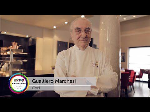 Ambassador Gualtiero Marchesi #Expo2015 #Milan