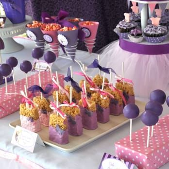 Custom Desserts Created for a Tangled Princess Party Dessert Table - Yelp