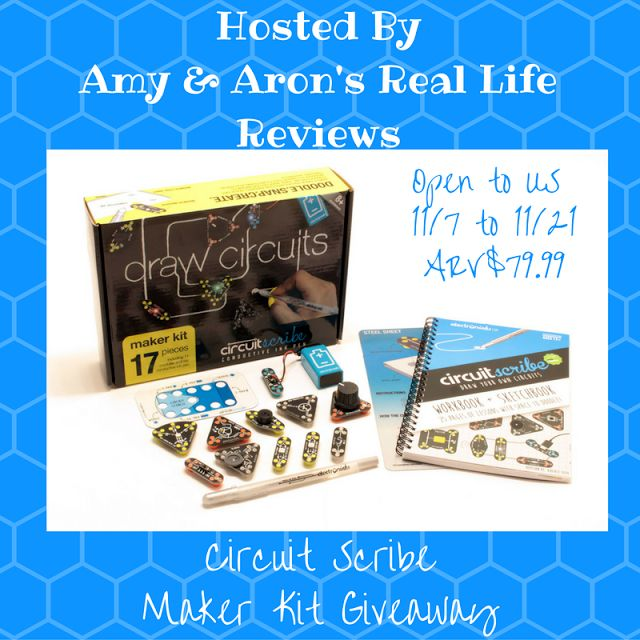 Circuit Scribe Giveaway ends 11/21 ⋆ IMHO Views, Reviews and Giveaways