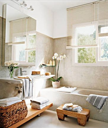 LOVE this color palette. actually love LOVE this whole bathroom.