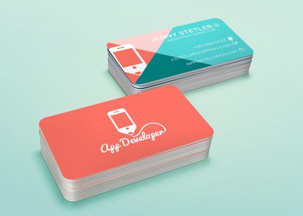 206 best business cards and labels images on pinterest business app developer branding by jonathan keller via behance reheart Images