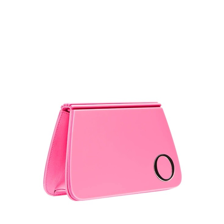 Oroton  barbie looking clutch..x