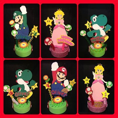34 best images about mario birthday party on pinterest - Luigi mario party ...