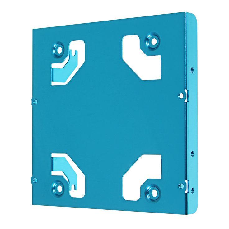 [US$4.99] JEYI K106 All-aluminum Two 2.5-inch to 3.5-inch Desktop Hard Drive Bracket SSD Bracket Frame Caddy  #25inch #35inch #allaluminum #bracket #caddy #desktop #drive #frame #hard #jeyi #k106