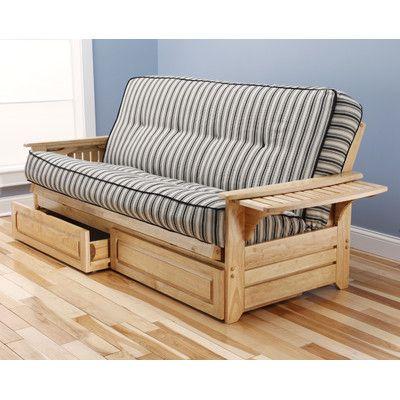 Phoenix Cozumel Futon and Mattress Frame Finish: Natural - http://delanico.com/futons/phoenix-cozumel-futon-and-mattress-frame-finish-natural-589551344/