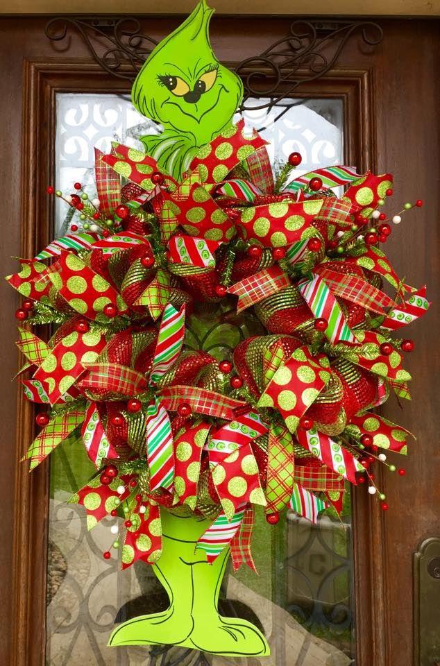 Grinch Christmas wreath | Trendy Tree Custom Designer ...