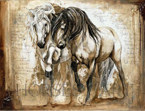 Manes to the Wind - Artist Elise Genest is featured in our winter issue of Horses In Art - www.horsesinart.com