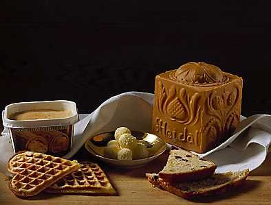 brunost = brown cheese  I love this cheese, haven't had any for eons:(