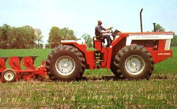 plaineman tractors | Yesterdays Tractors - White Plainsman A4T 1400 A4T-1400 (2011-10-29)