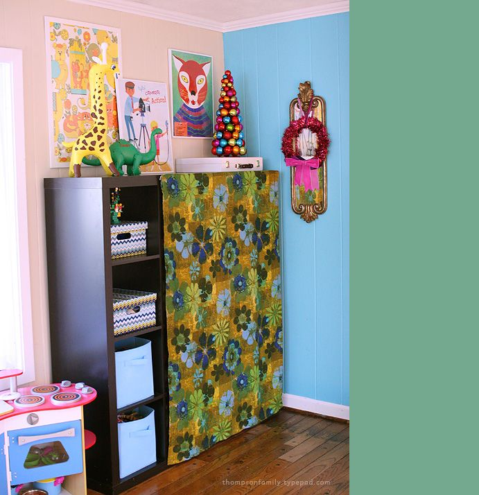 Vintage Craft Room Small Spaces