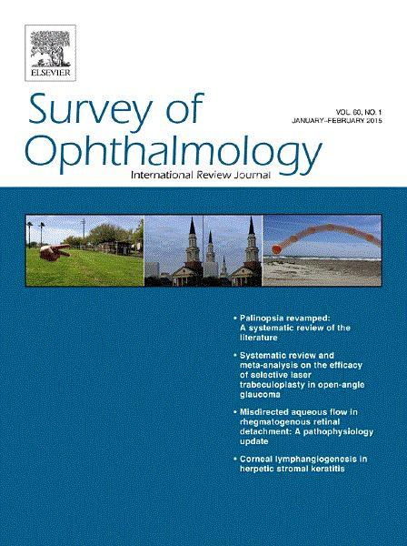 Публикации в журналах, наукометрической базы Scopus   Survey of Ophthalmology #Survey #Ophthalmology #Journals #публикация, #журнал, #публикациявжурнале #globalpublication #publication #статья