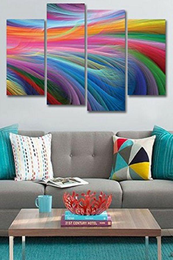 Discover Vivid Bold And Playful Rainbow Wall Decor Rainbow Wall
