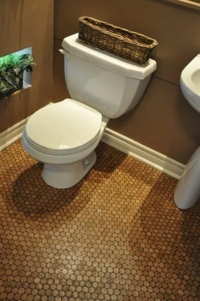 Jelinek Cork Mosaic Installed In A Bathroom.