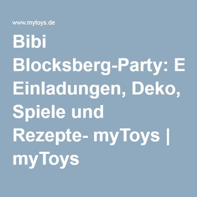Bibi Blocksberg-Party: Einladungen, Deko, Spiele und Rezepte- myToys   myToys