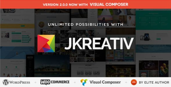 Jkreativ v2.2.6 – Multilayer Parallax MultiPurpose Theme