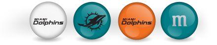 Miami Dolphins M&M's
