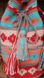 Karin Aan De Haak Mochila Guirlande Crochet For Beginners Haken