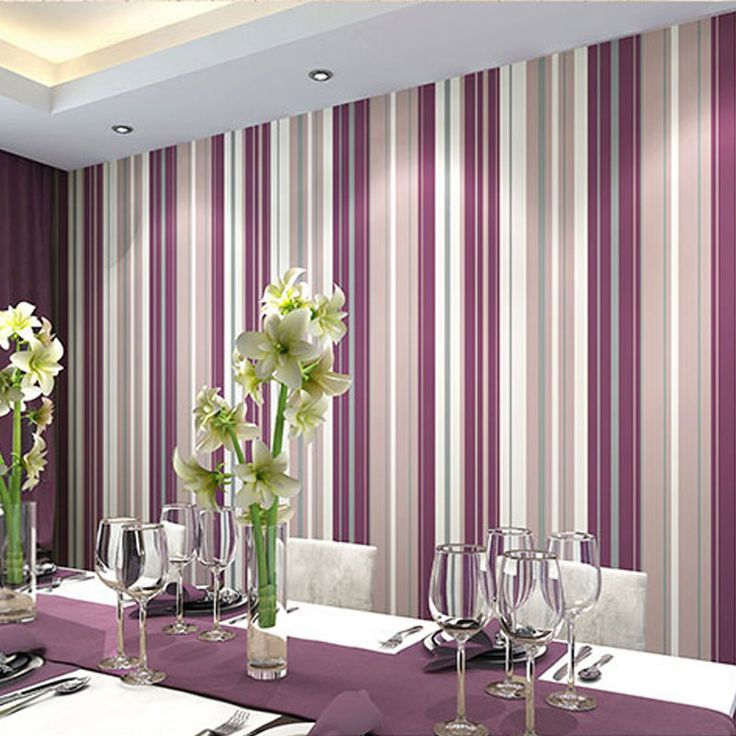 Serafina Stripe Bone Muriva Stripe Wallpaper · Plain WallpaperLiving Room  ... Part 43