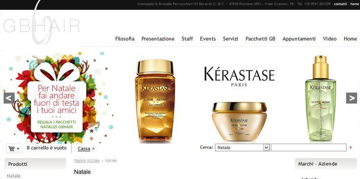 PER NATALE 2014 REGALA prodotti professionali per la bellezza dei tuoi capelli e viso. Sul sito http://www.gbhair.com/shop/natale/#1 troverai kit natalizi per un regalo originale e utile.