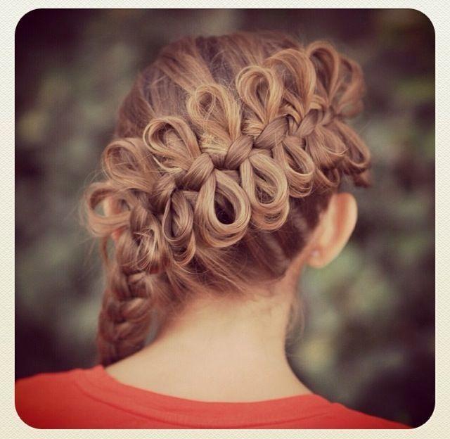 Bow french braid