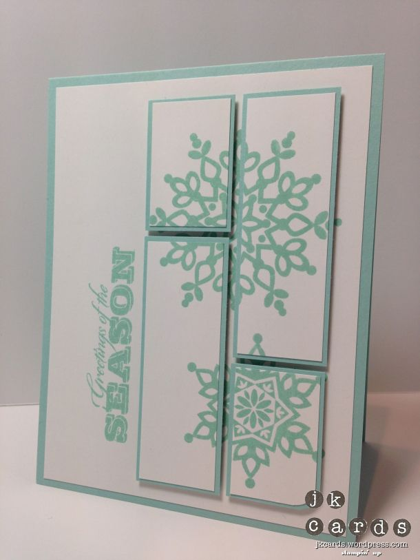 Stampin' Up!, CCMC 263, Festive Flurry, Greetings of the Season