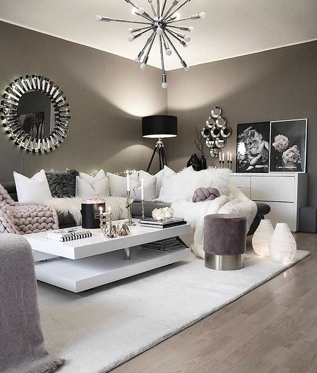 27 Ideas Inspiradoras Para Decoracion De Salas Modernas 2019 Living Room Decor Modern Home Living Room Living Room Decor Cozy