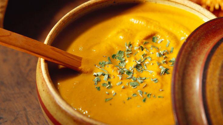 Kürbissuppe aus dem Thermomix