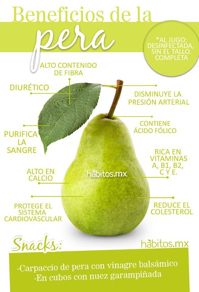 Hábitos Health Coaching |   BENEFICIOS DE LA PERA