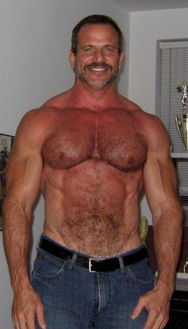 Jim Ferro  Hombres Guapos, Hombres, Barba-3881