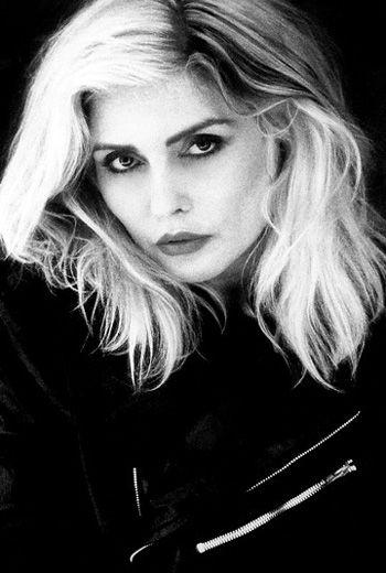 VIDA Leather Statement Clutch - Blondie/Debbie Harry by VIDA Ko0xSh5bJD
