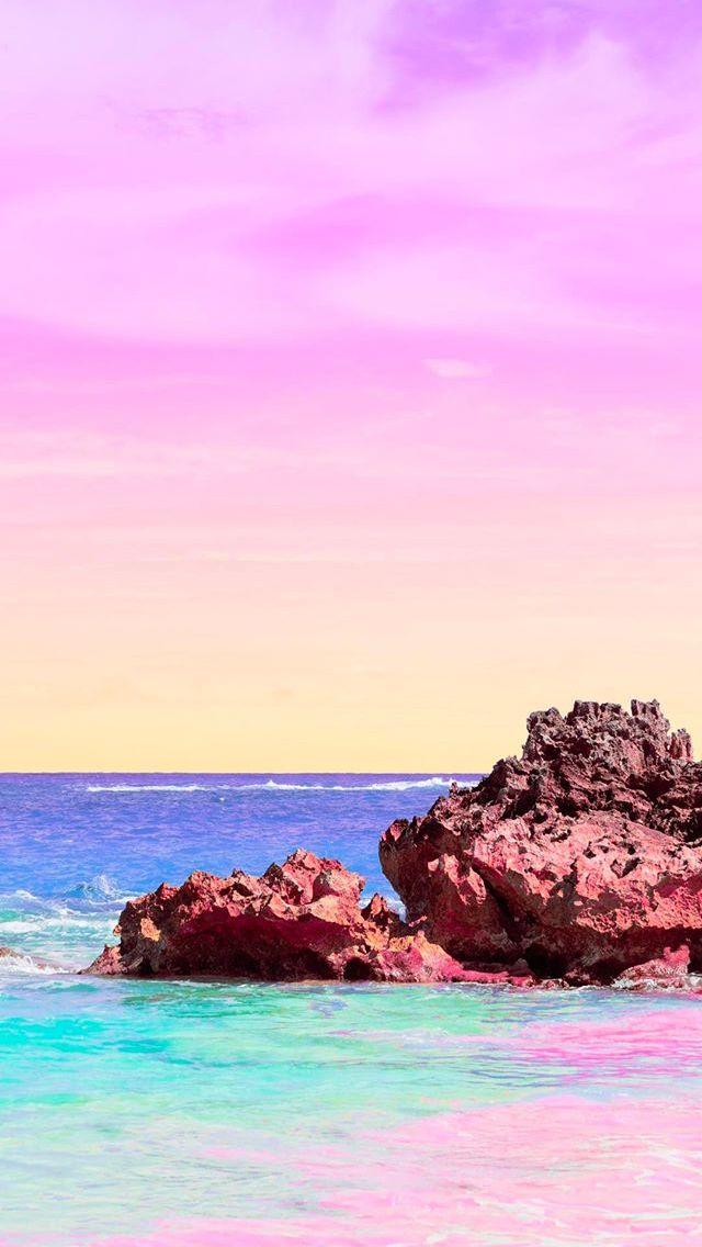 Pastel Pink Wallpaper Cute Matt Crump Photography Iphone Wallpaper Pastel Bermuda