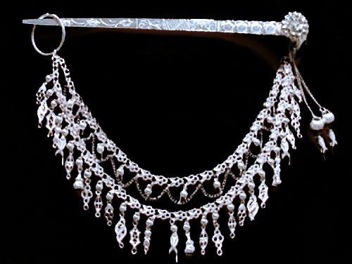 argent massif accessoire coiffure mariage pic cheveux bijoux ethniques 102 in vtements accessoires - Accessoir Mariage