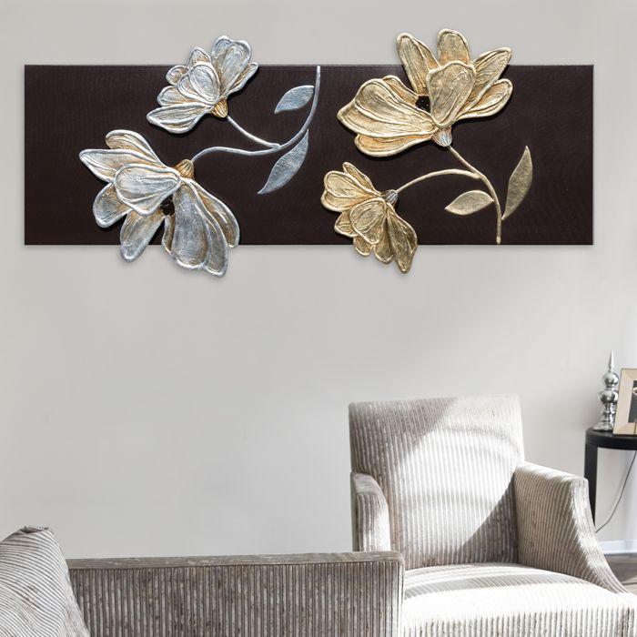 FIORI LUCENTI #quadro #quadri #pannelli #madeinitaly #paintings #pictures #pintdecor #canvas