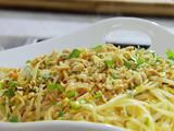 Pad Thai Recipe by Sandra Lee - I would add chicken or shrimp!