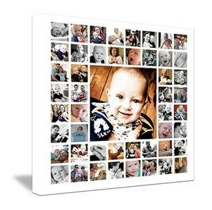 "20""x20"" Photo Collage Design (print-ready flattened JPEG). $250.00, via Etsy."