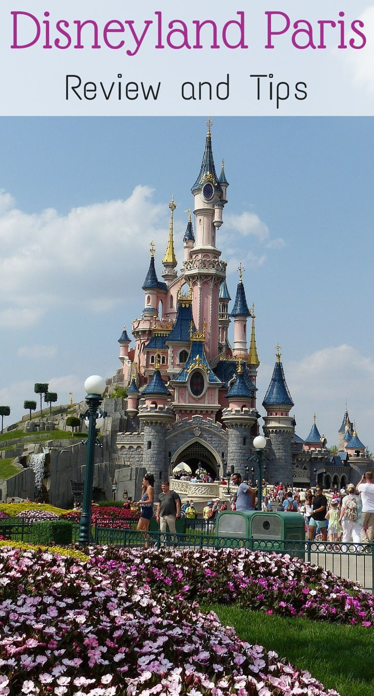 All the information you need for a great visit to Disneyland Pairs including info about Disneyland Park and Walt Disney Studios Park, how to get there, tips for Disneyland Paris with kids http://www.wheressharon.com/europe-with-kids/disneyland-paris-review/