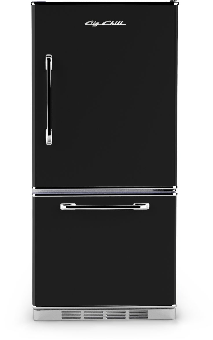 Big Chill - Retropolitan Fridge - Black