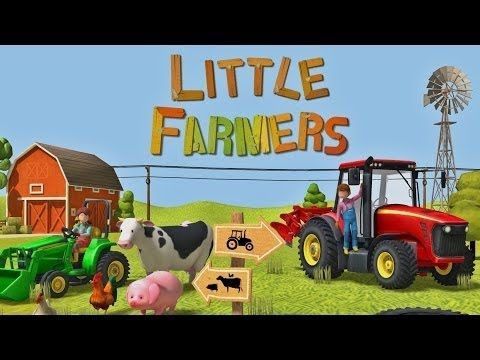 Little Farmers - Tractors, Harvesters and Farm Animals for Kids - Educational Games for Kids - YouTube
