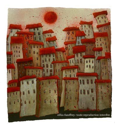 red rooftops...