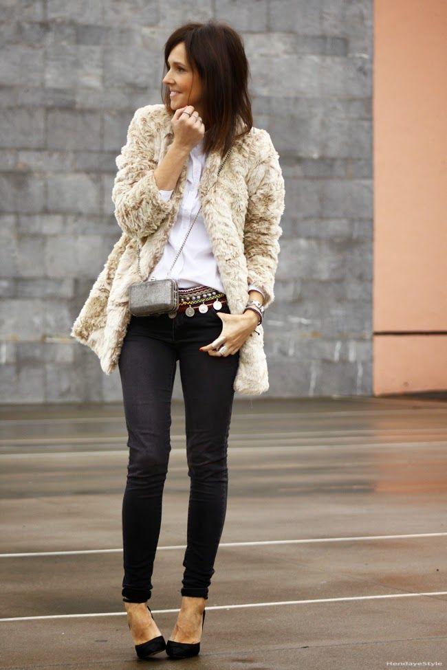 faux fur coat | Cuidar de tu belleza es facilisimo.com