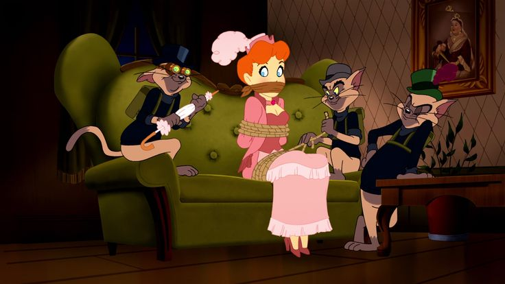 Screencap Gallery for Tom and Jerry Meet Sherlock Holmes (2010) (1080p Bluray, Hanna-Barbera, Tom & Jerry, Warner Bros. Animation). Takes place in London, as various jewel heists baffle Scotland Yard, and a beautiful singer named Red gets framed as the culprit. A situation of this magni