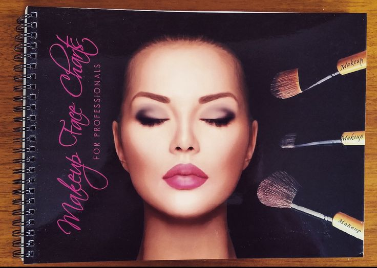 """Practise makeup looks with the perfect tool, Makeup Face Charts By Elanoir! Get it on Amazon.co or ebay,com search for   """"face charts""""  !! #facecharts #face #charts"""