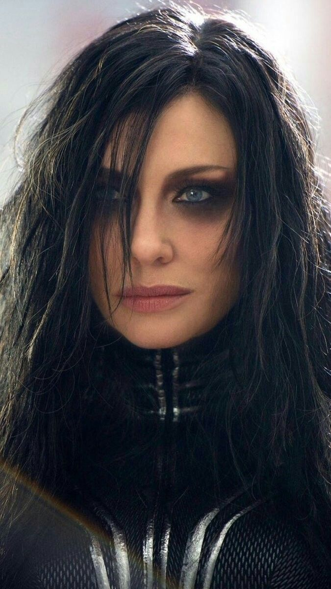 Cate Blanchett as Hela in Thor Ragngrok
