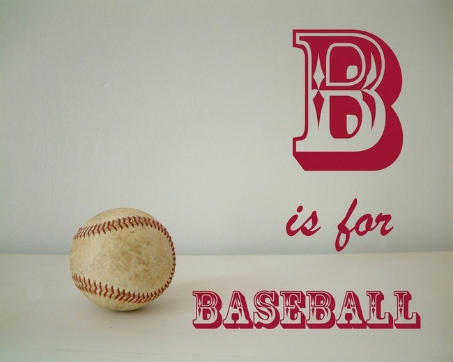 B is for Baseball