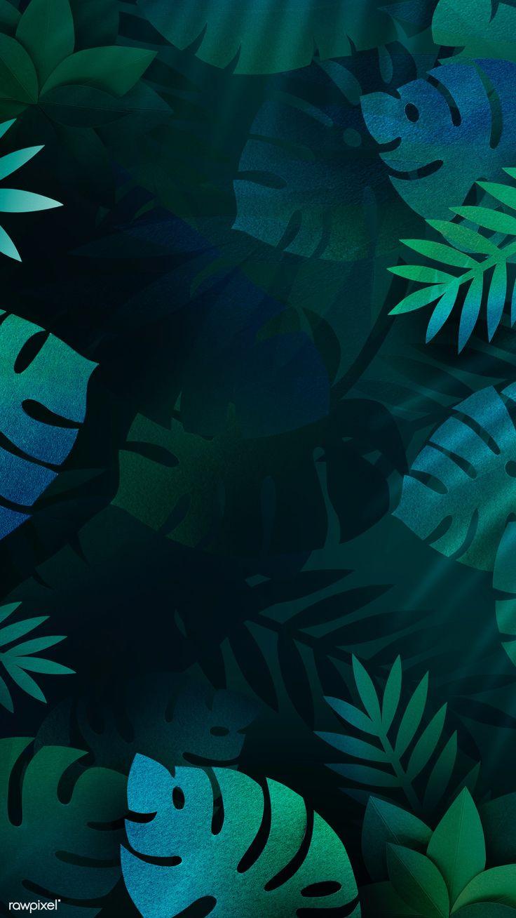 Download premium image of Leafy monstera mobile phone wallpaper 1219609