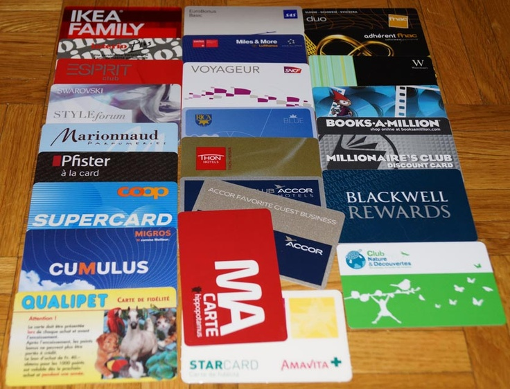 article on loyalty cards