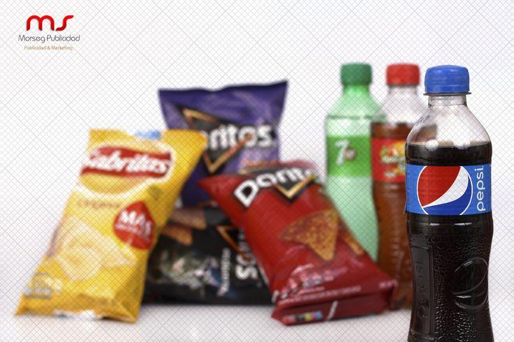 Morseg - Fotografía de Productos - Pepsi - Sabritas - Doritos