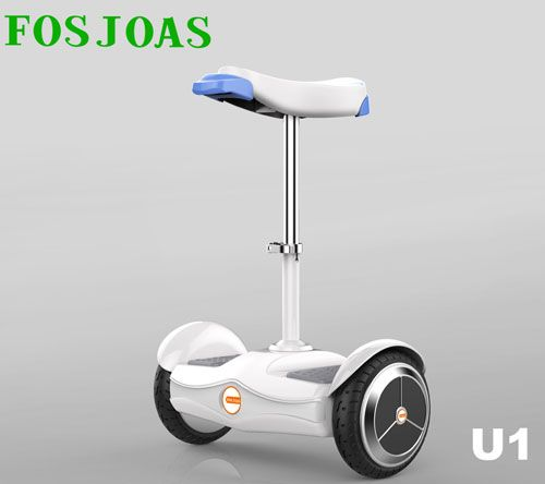 Small In Figure, Big In Function – Fosjoas U1 Electric Saddle-Equipped Scooter